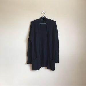 Aritzia Lenox Cashmere-Blend Cardigan Sweater